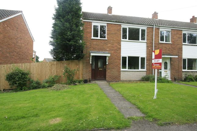End terrace house to rent in Brewers Terrace, Pelsall, Walsall