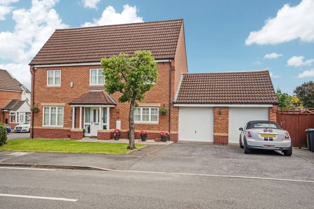 Thumbnail Detached house for sale in Wavers Marston, Marston Green, Birmingham