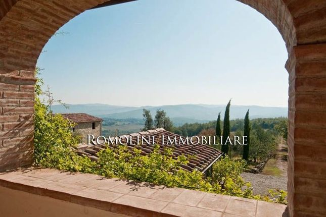 Historic Farmhouse With Unrivaled View Over The Chianti Hills