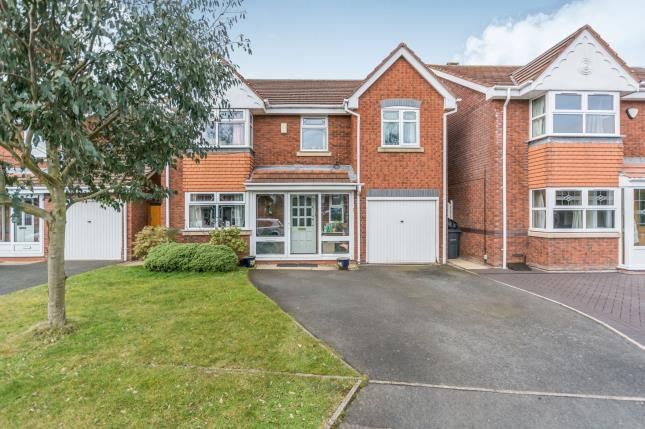 Thumbnail Detached house for sale in Darnford Close, Hall Green, Birmingham, West Midlands