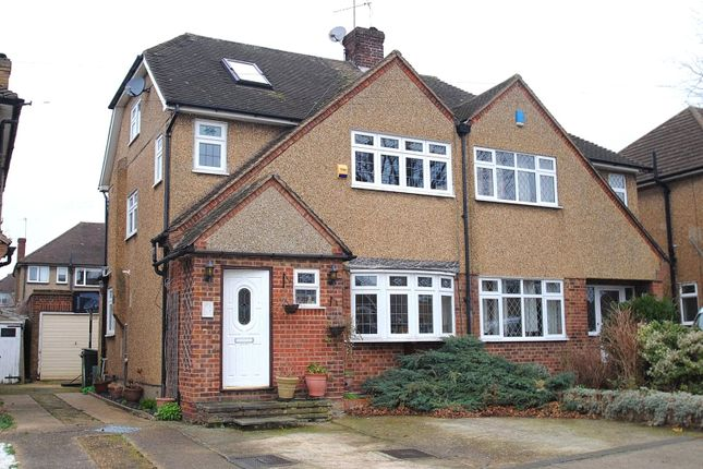 Thumbnail Semi-detached house for sale in Tyne Close, Upminster