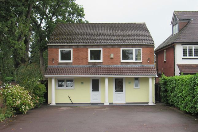 Thumbnail Detached house for sale in St. Bernards Road, Solihull