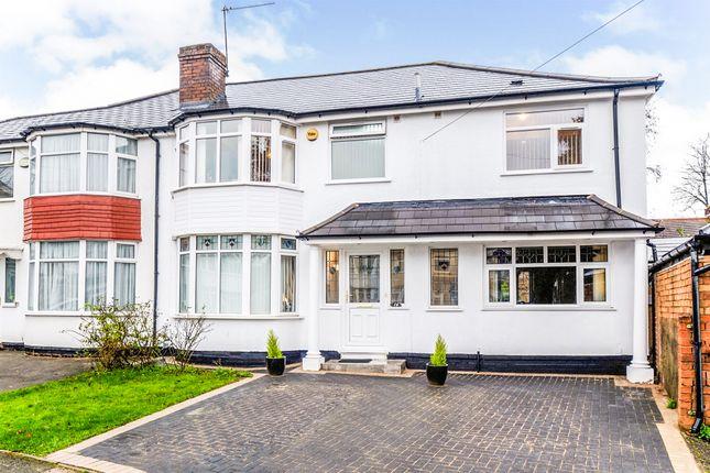 Thumbnail Semi-detached house for sale in Norton View, Kings Heath, Birmingham