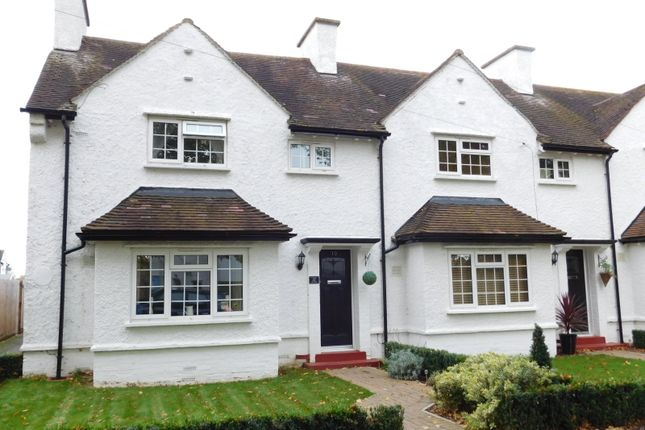 Thumbnail End terrace house for sale in Avon Road, Henlow, Beds