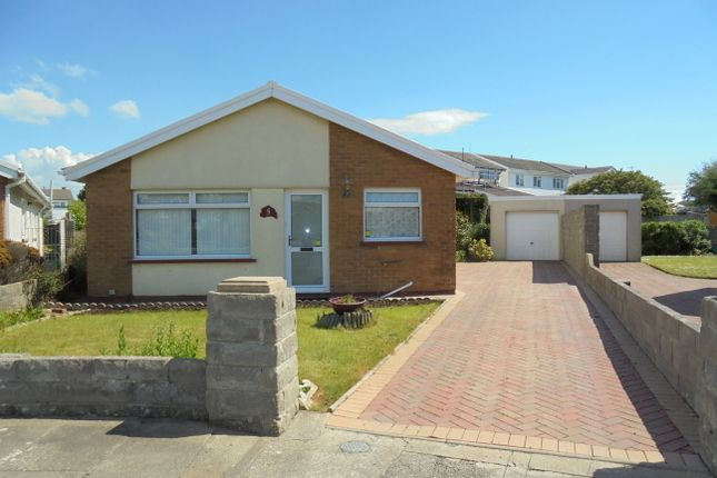 Thumbnail Detached bungalow to rent in Skokholm Close, Porthcawl