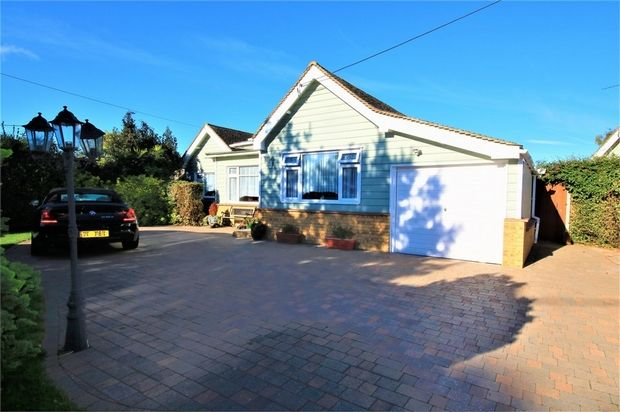 Thumbnail Detached bungalow for sale in Blackmore Avenue, Canvey Island, Essex