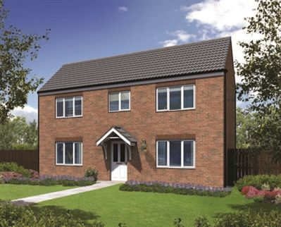 "Thumbnail Detached house for sale in ""The Waddesdon"" at Sterling Way, Shildon"