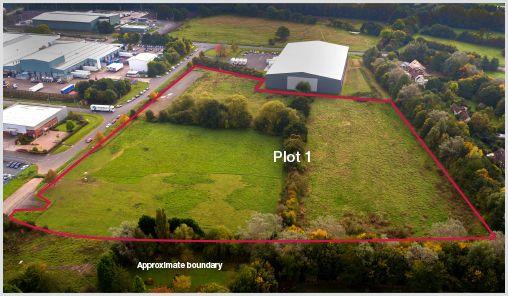 Thumbnail Land for sale in Hortonwood 65, Telford