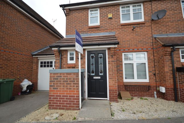 Thumbnail Town house to rent in Packhorse Drive, Enderby, Leicester