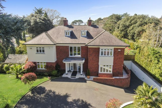 Thumbnail Detached house for sale in The Avenue, Westbourne, Bournemouth
