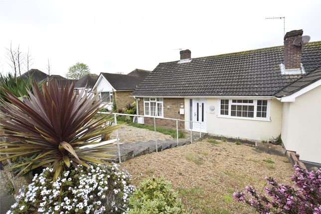 Thumbnail Semi-detached bungalow to rent in Lancing Close, Hastings, East Sussex