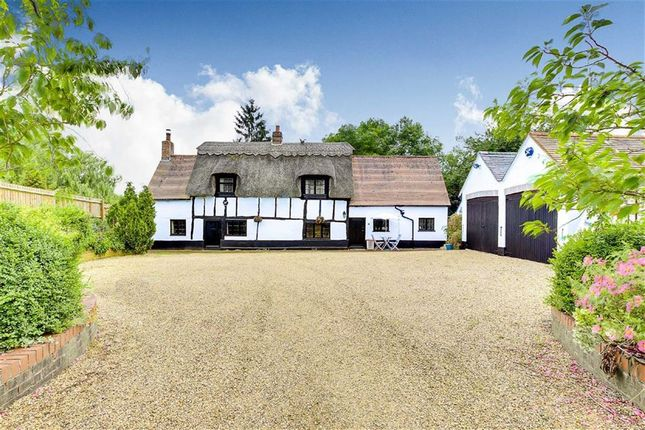 Thumbnail Detached house for sale in The Green, Woughton On The Green, Milton Keynes, Bucks