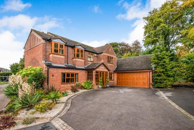 Thumbnail Detached house for sale in Hatherton Croft, Cannock, Staffordshire