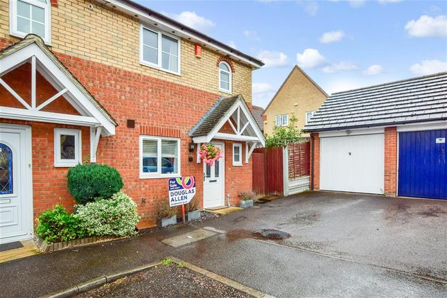 Thumbnail Semi-detached house for sale in Pound Lane Central, Laindon, Basildon, Essex