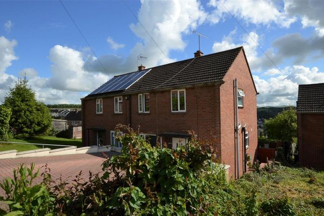 Thumbnail End terrace house for sale in Butt Parks, Crediton, Devon