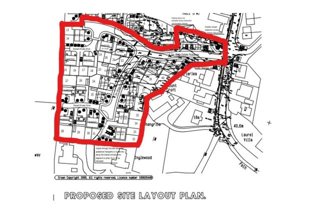 Thumbnail Land for sale in Harcourt Close, Hook