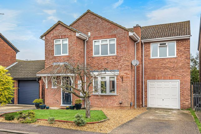 Thumbnail Detached house for sale in Cheviot Close, Flitwick