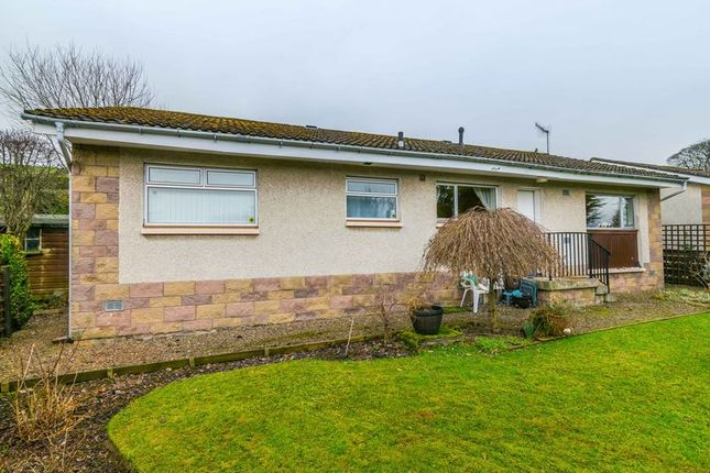 Thumbnail Bungalow for sale in 5 Westwood Gardens, Galashiels, Scottish Borders