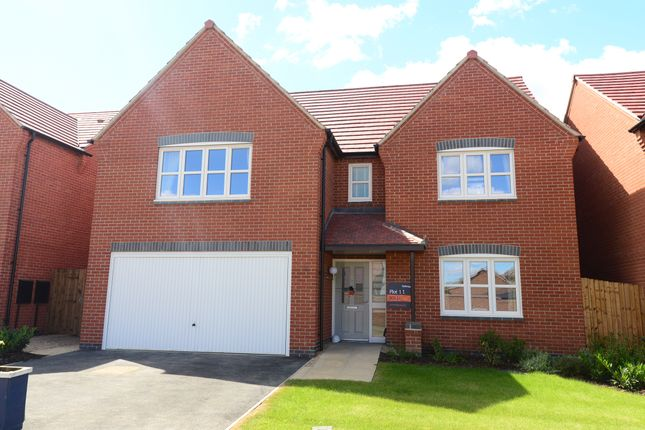 Thumbnail Detached house for sale in Seagrave Road, Sileby, Leicestershire