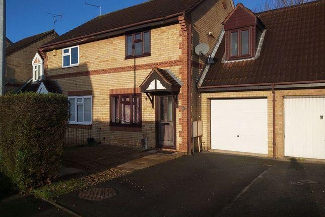 Thumbnail Semi-detached house to rent in Caldervale, Orton Longueville, Peterborough
