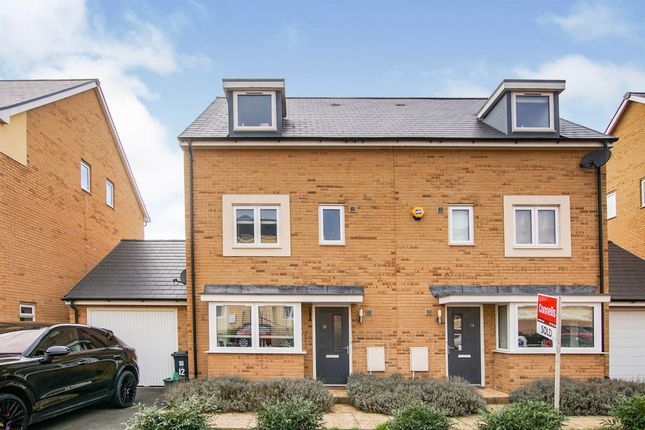 Thumbnail Semi-detached house for sale in Lilac Drive, Emersons Green, Bristol
