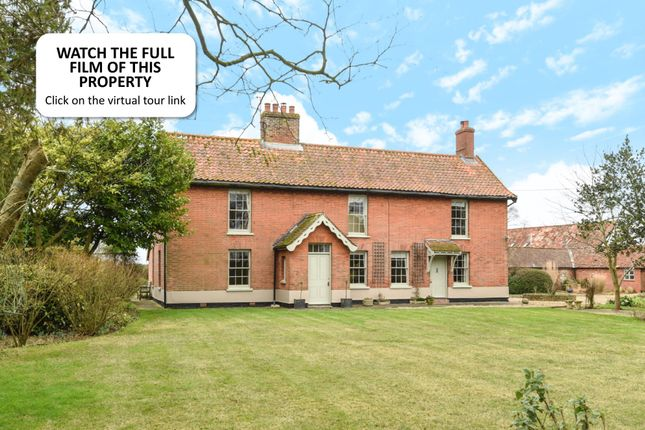 Thumbnail Farmhouse for sale in Reymerston, Norwich