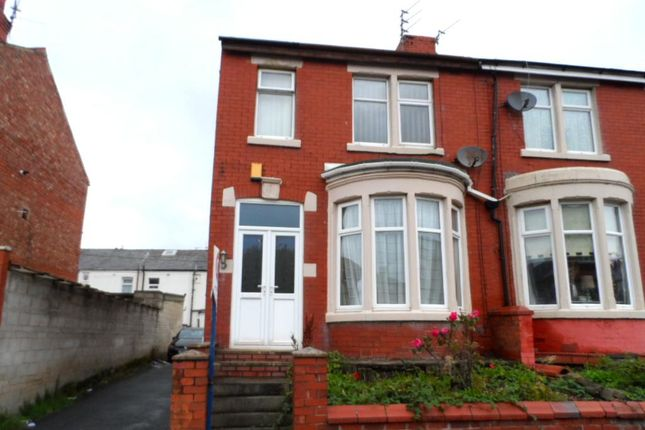 Thumbnail End terrace house to rent in Keswick Road, Blackpool