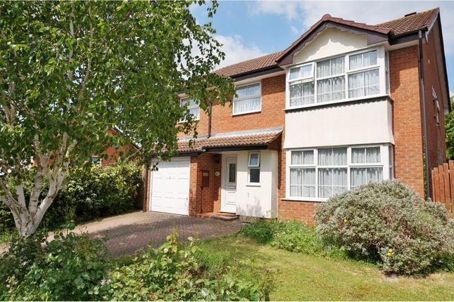 Thumbnail Detached house for sale in Stuart Road, Brackley