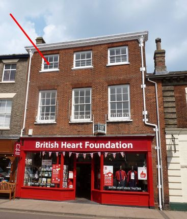 Thumbnail Flat to rent in Market Street, Beccles