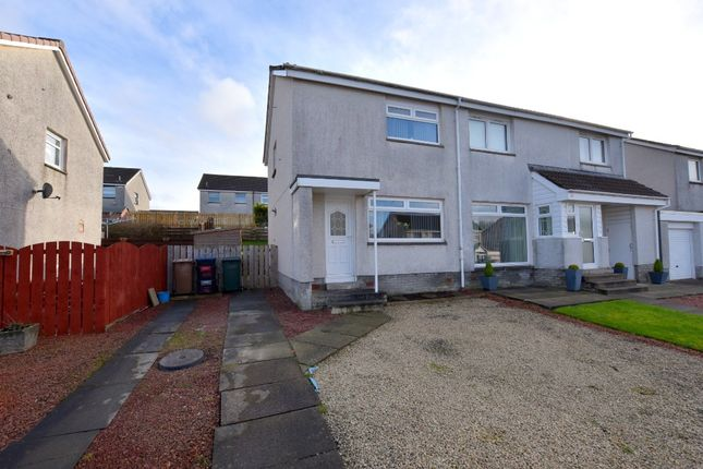 Thumbnail Semi-detached house for sale in Cunninghame Drive, Kilmarnock, East Ayrshire