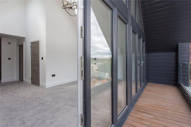 Balcony of Mere View, Astbury Mere, Congleton, Cheshire CW12