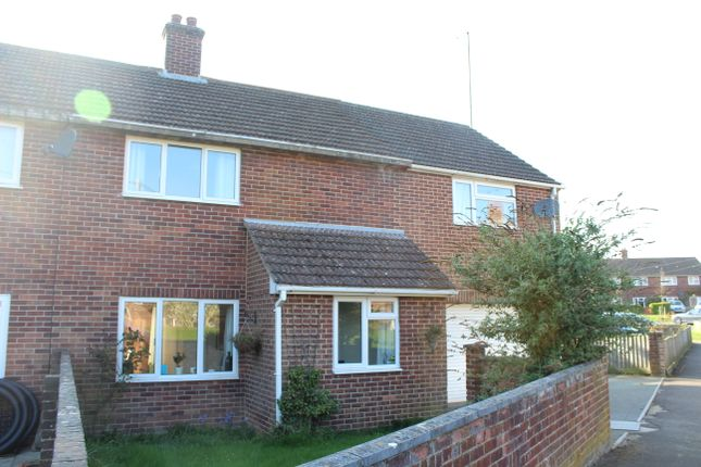 Thumbnail Semi-detached house for sale in Mant Close, Wickham