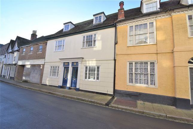 Thumbnail Terraced house for sale in Church Street, Harwich, Essex