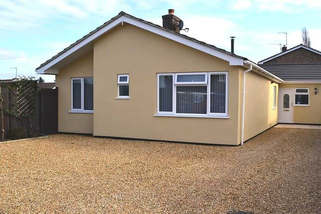 Thumbnail Bungalow for sale in Greenacre Close, South Wootton, King's Lynn