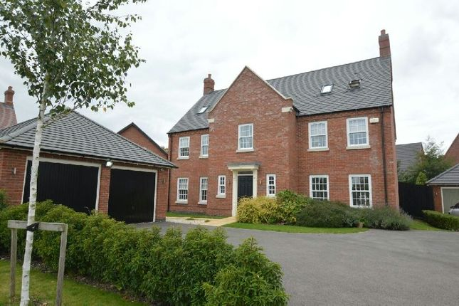 Thumbnail Detached house for sale in Lord Close, Countesthorpe, Leicester