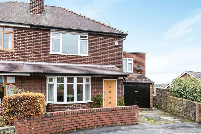 Thumbnail Semi-detached house for sale in Sandy Close, Bollington, Macclesfield