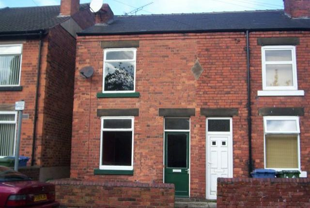 Thumbnail End terrace house to rent in Orchard Street, Mansfield