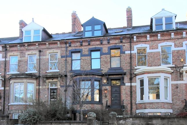 Thumbnail Town house for sale in Woodland Road, Darlington