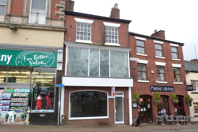 Thumbnail Studio for sale in 14 Market Place, Leek, Staffordshire