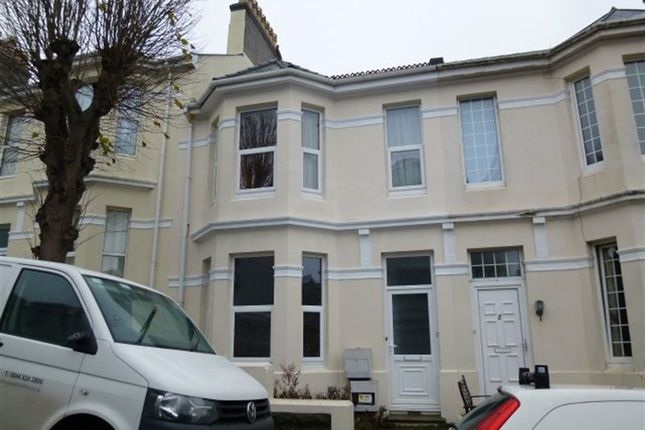 Thumbnail Flat to rent in Pentyre Terrace, Plymouth