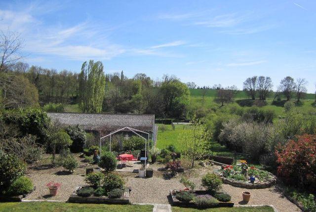 Garden And View of Hanc, Poitou-Charentes, France