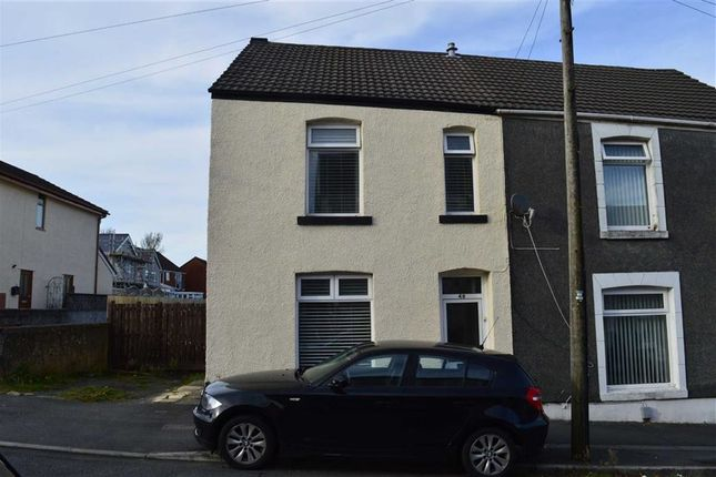 Thumbnail End terrace house for sale in Roger Street, Swansea