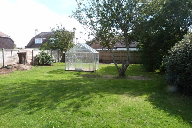 Rear Garden of Peachey Road, Selsey, Chichester PO20