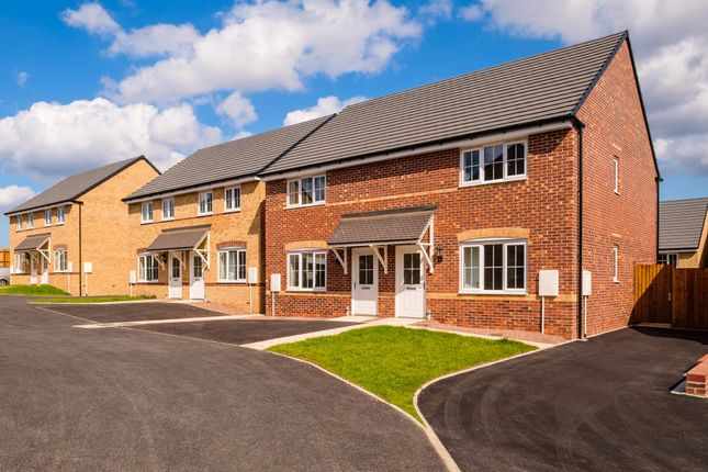 """Thumbnail Terraced house for sale in """"Finchley"""" at Hampton Dene Road, Hereford"""