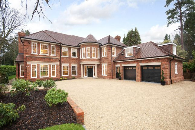 Thumbnail Detached house for sale in Friary Road, South Ascot, Berkshire