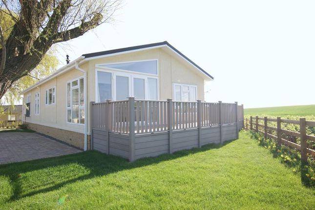 Thumbnail Mobile/park home for sale in Reculver Lane, Reculver, Herne Bay
