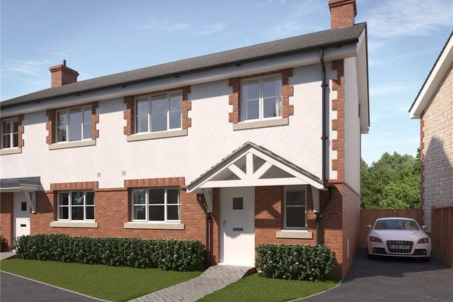 Thumbnail Semi-detached house for sale in Ash Green, West Bourton Road, Bourton, Gillingham