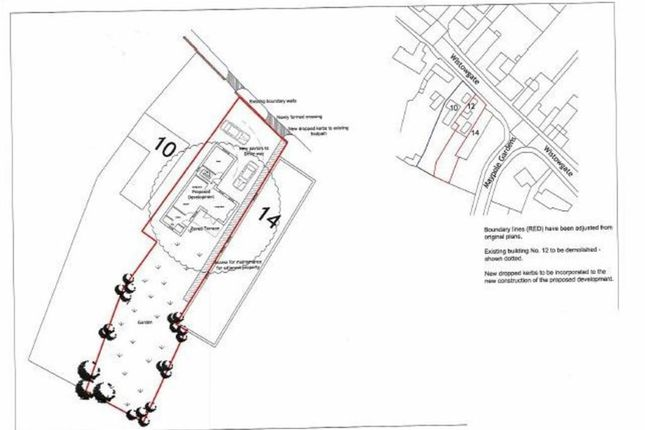 Thumbnail Land for sale in Wistowgate, Cawood, Selby
