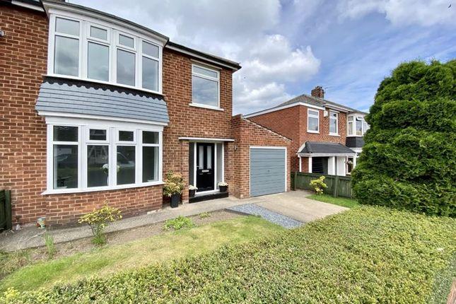 Thumbnail Semi-detached house for sale in Ingleby Grove, Hartburn, Stockton