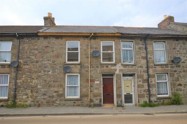Thumbnail Flat for sale in Trevenson Street, Camborne, Cornwall